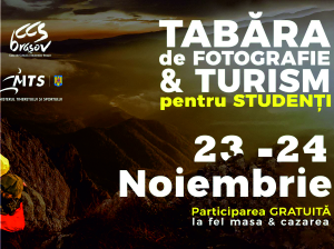 Tabără de turism și fotografie