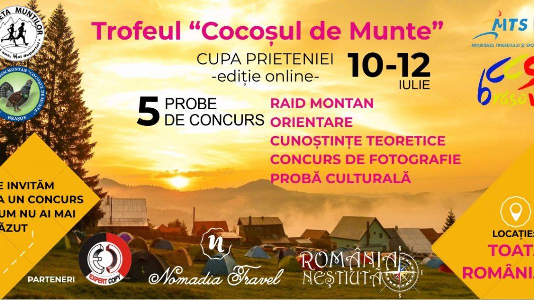 """Trofeul """"Cocoșul de Munte – Cupa prieteniei (editie online)"""